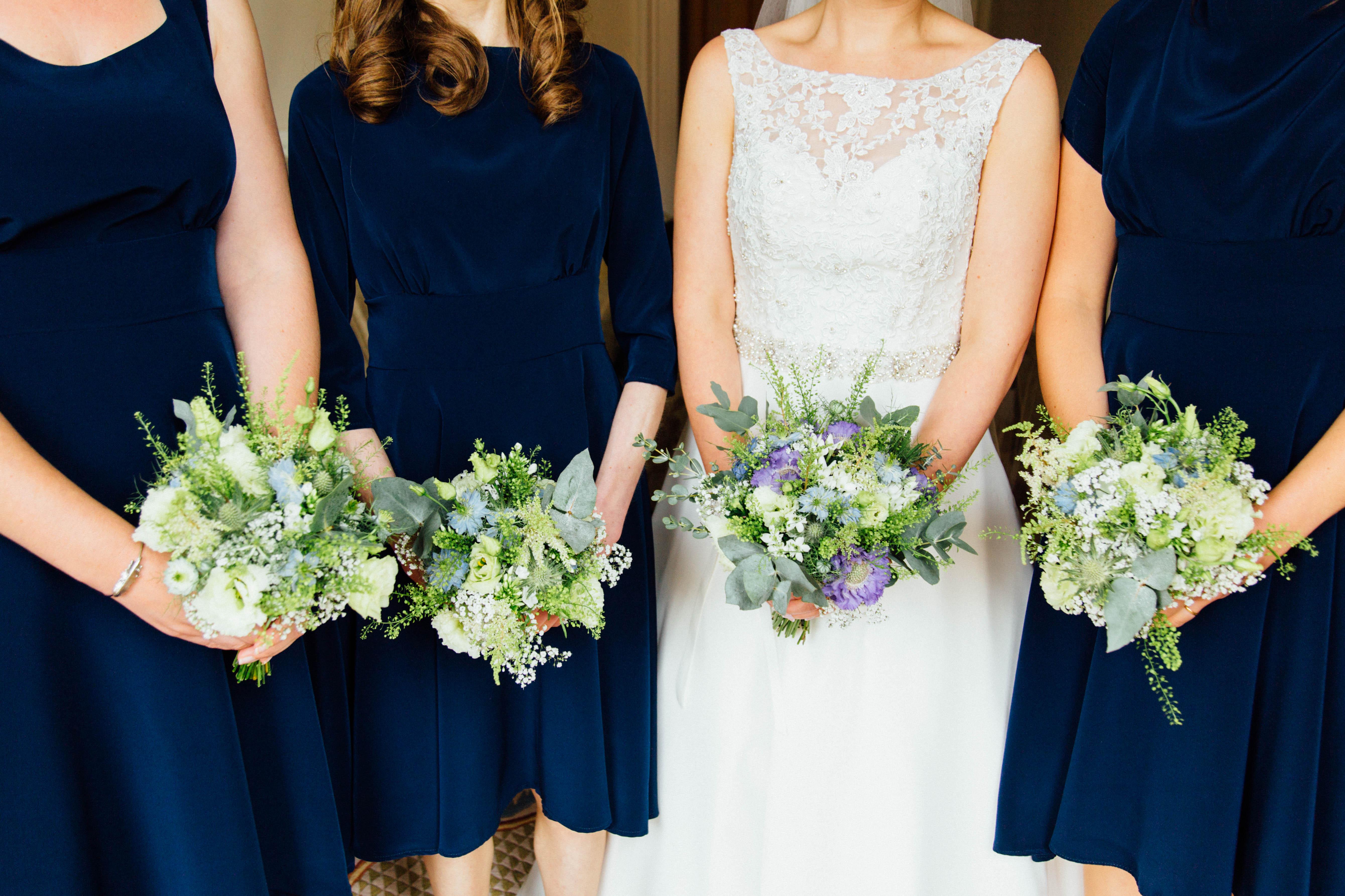 Bridesmaid bouquet rustic country weddin