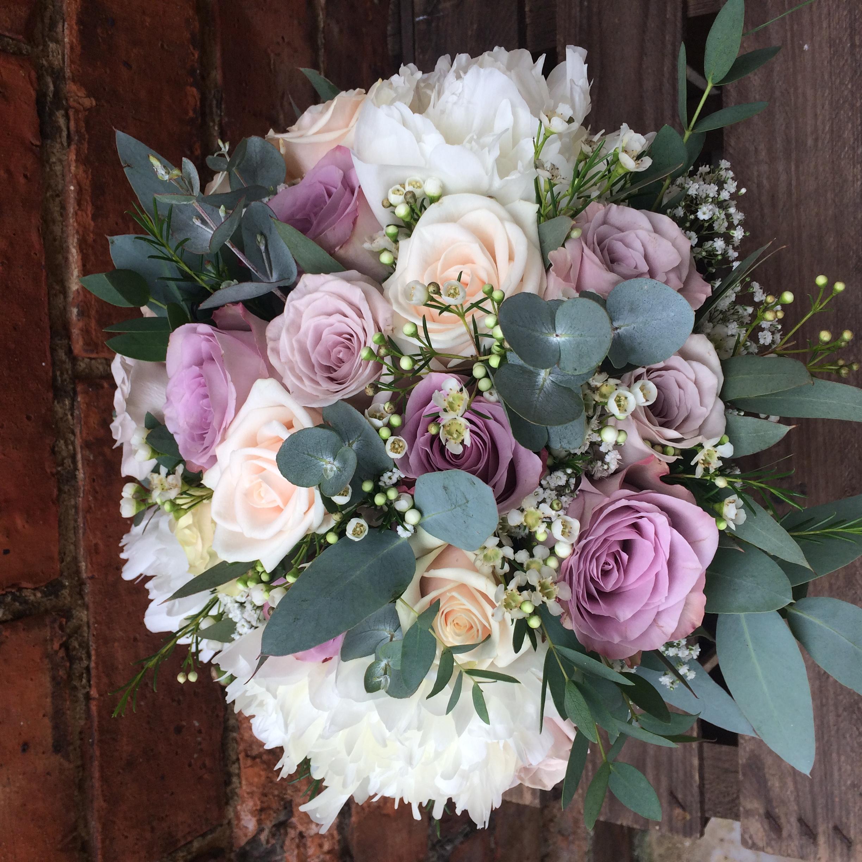 bridal bouquet memory lane peony mentha