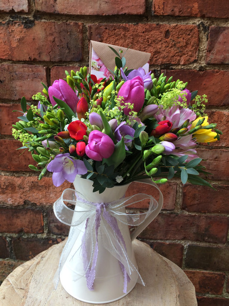 Seasonal Flower Jug (from £29)