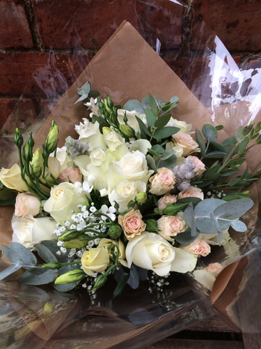 Handtied gift Bouquet (from £40)
