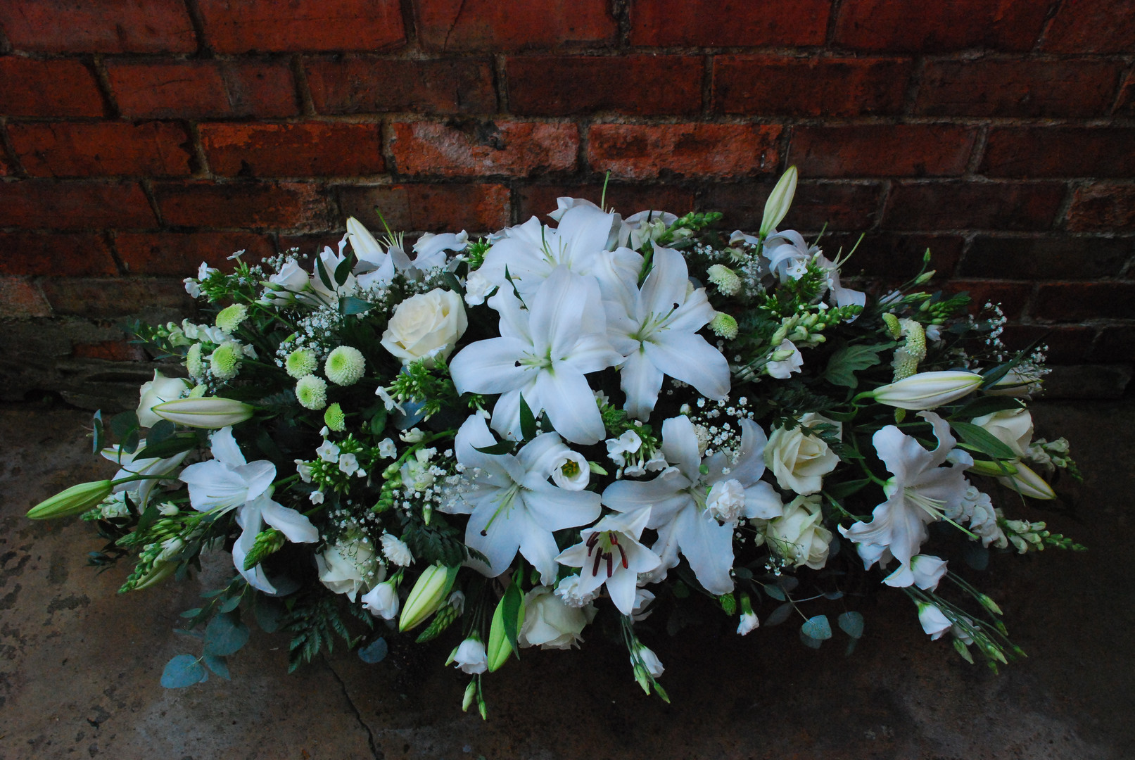 Lily Casket Spray (from £180)