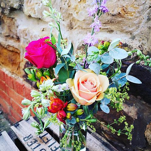 Mother's Day Florist Choice Jam Jar