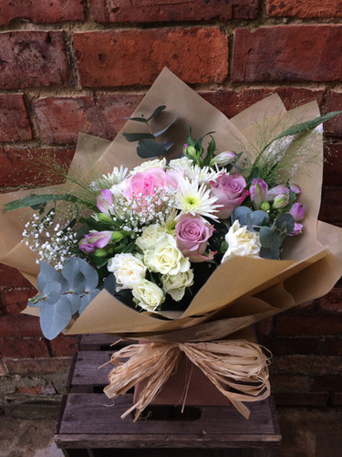 Handtied gift Bouquets (from £40)