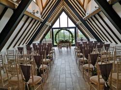 ceremony decoration wood farm everdon wi