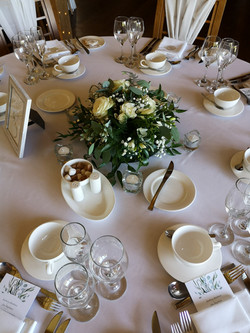 table flowers dodford manor with love an