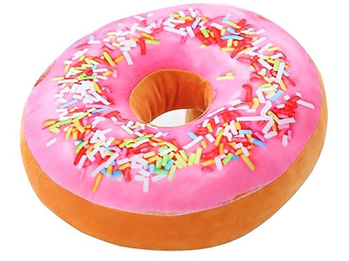 Pink Icing with Sprinkles Donut Seat/Back Stuffed Cushion - Rental