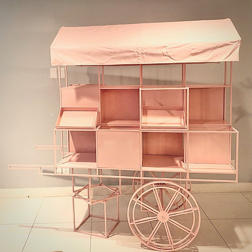 Pink Candy Cart Rental