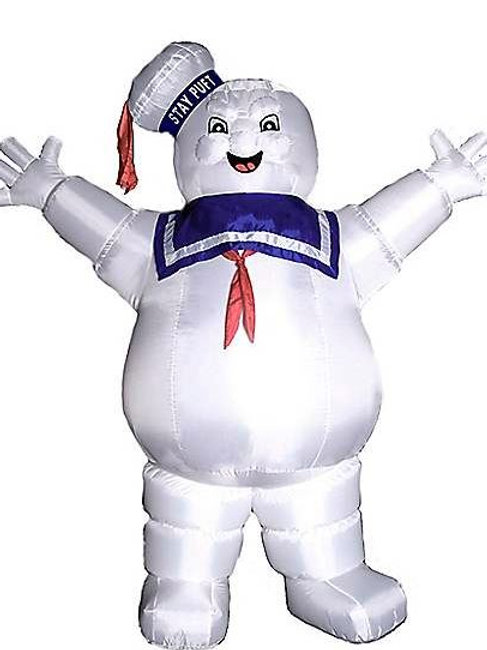 Ghosbusters Stay Puft Marshmallow Man Inflatable Decoration Rental