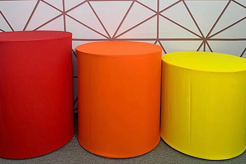 Red, Orange and Yellow Cylinders Rental