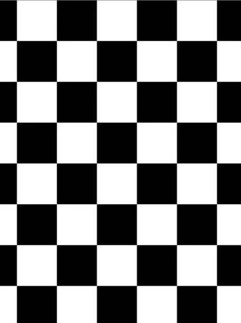 8' x 10' Checkered Floor Rental