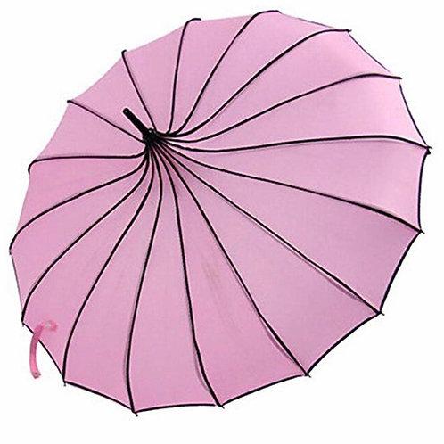 Pink and Black Parasol Rental