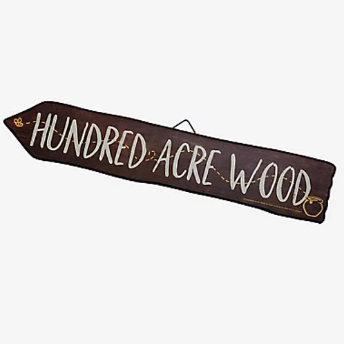 Winnie the Pooh Hundred Acre Wood Sign Rental