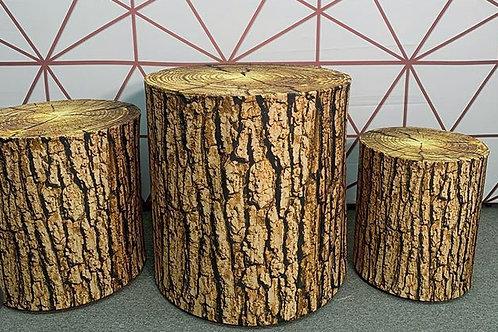 Log Cylinder Set Rental