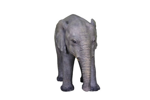 Baby Elephant Resin Statue Rental