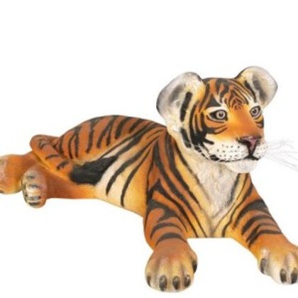 Lying Tiger Cub Statue Rental