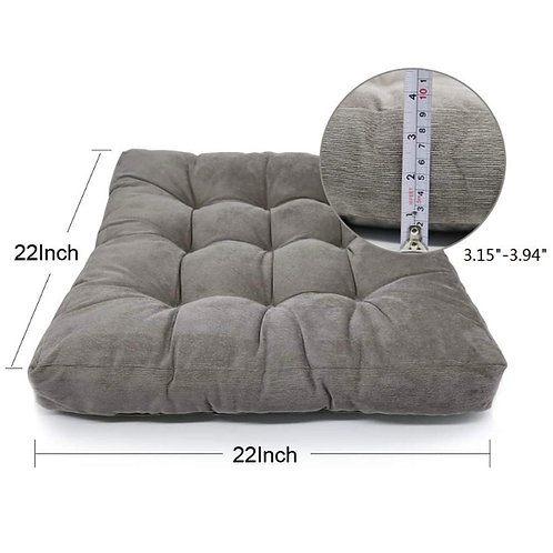 Gray Floor Cushion Rental