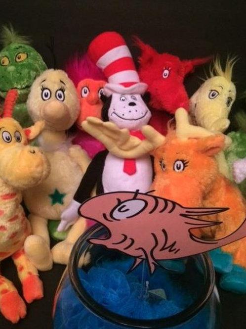 Dr. Seuss Plush Doll Set Rental
