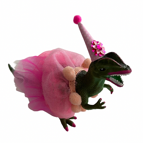Birthday Girl Dino Figurine Rental