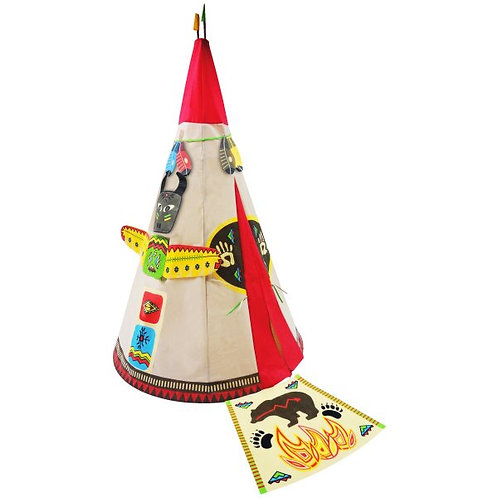 Round Indian Play Teepee Rental