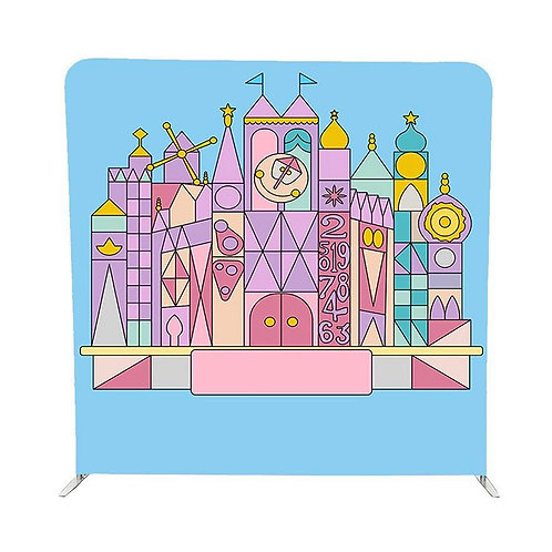 It's a small world backdrop - Rental