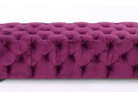 Allure Velvet Bench Rental