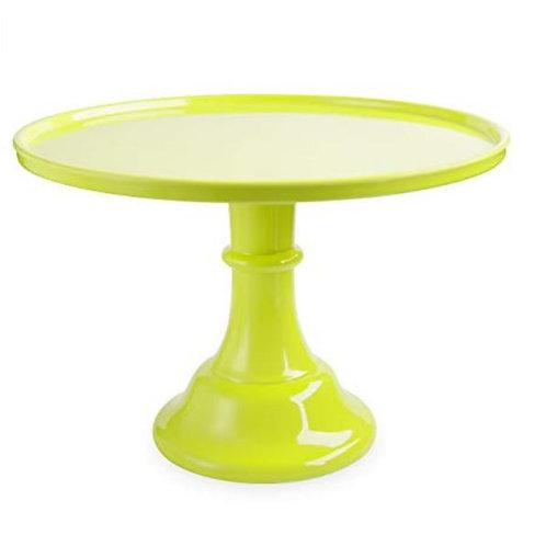 Lime Green Melamine Cake Stand Rental