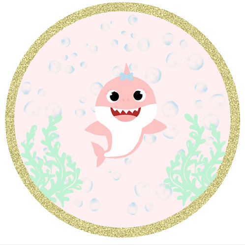 Baby Shark Circular Backdrop Rental