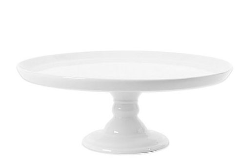 White Porcelain Cake Stand Rental