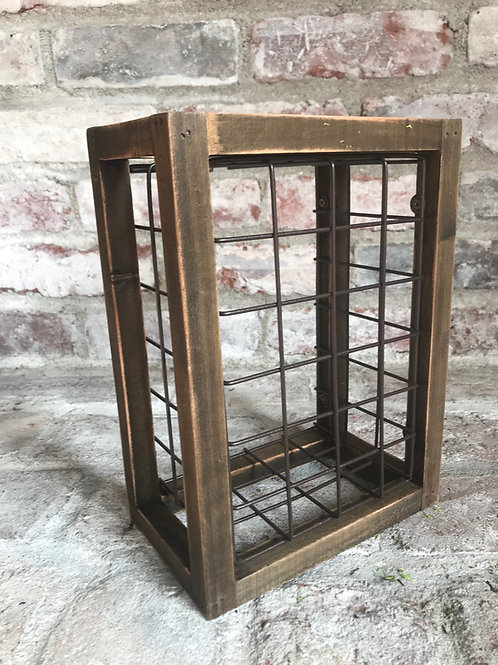 Crate with Metal Grid Rental