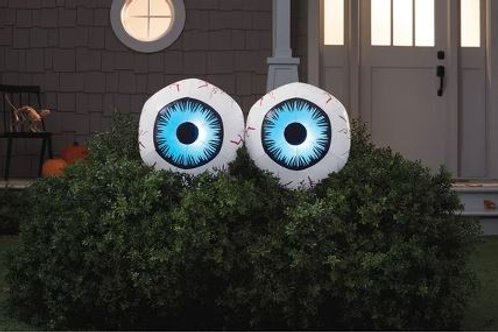 Giant Lighted Inflatable Eyeballs Rental