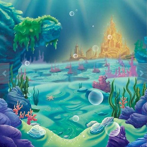 Under the Sea Backdrop Rental