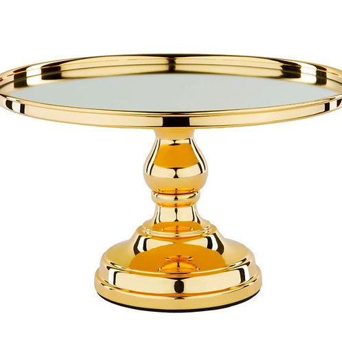 Gold Plated Cake Stand Rental