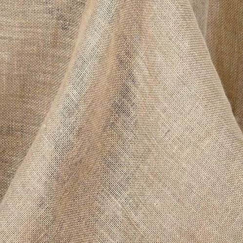 Burlap Rectangle Tablecloth Rental