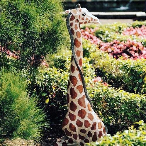 Baby Giraffe Statue Rental