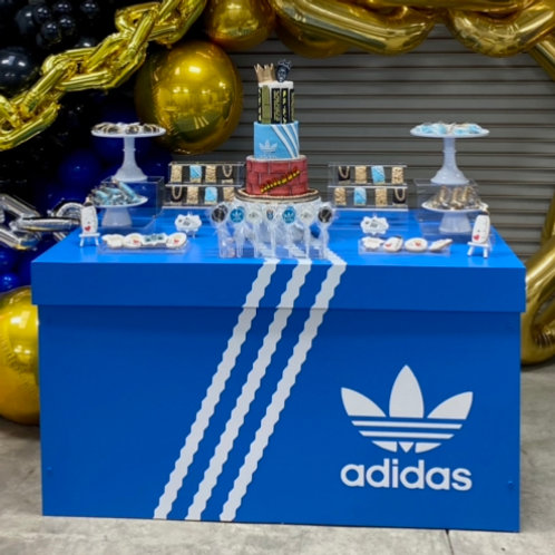 adidas shoe box table rental