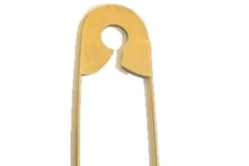 Giant Gold Safety Pin Rental