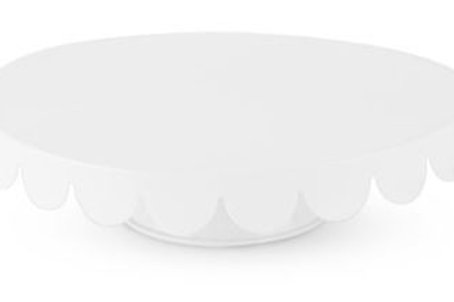 White Metal Cake Stand Rental