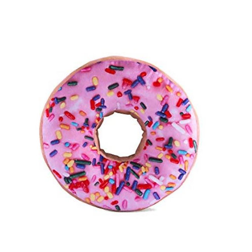 Pink Donut Shaped Pillow Rental