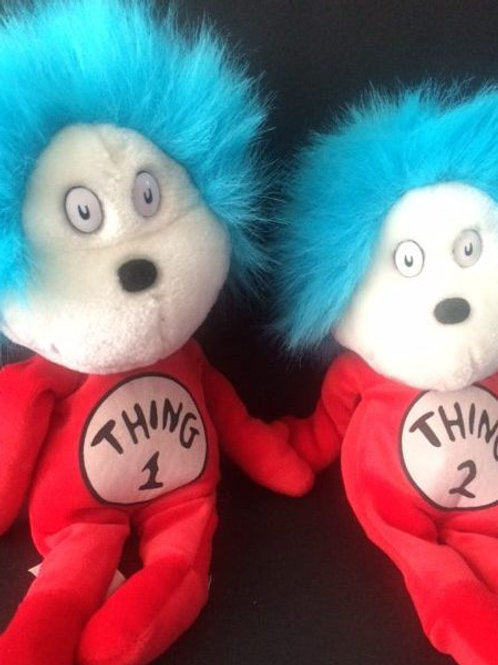 THING 1 and THING 2 Plush Doll Rental