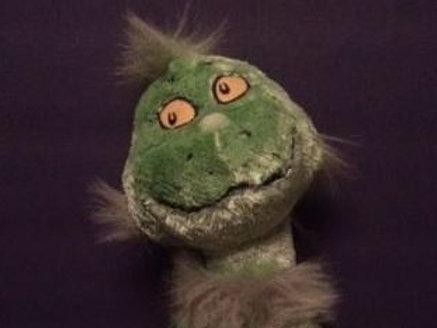 Vintage Grinch Plush Doll Rental
