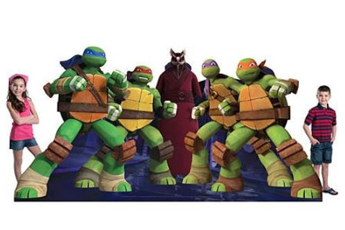 Teenage Mutant Ninja Turtles Standee Rental