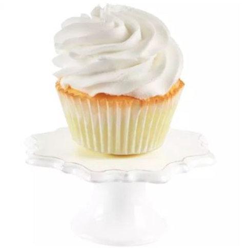 White Individual Cupcake Stand Set - Rental