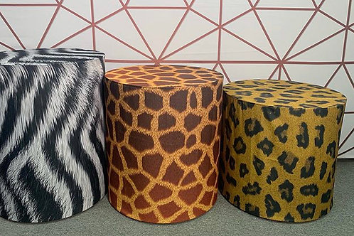Jungle Print Cylinder Set Rental