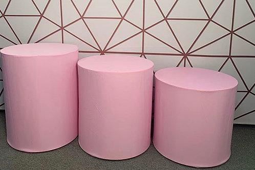 Pink Cylinder Set Rental