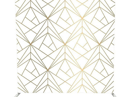 Geometric Backdrop Rental