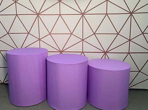 Lavender Cylinder Set Rental