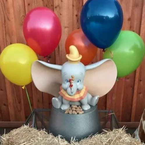 Dumbo Statue with Stand Rental