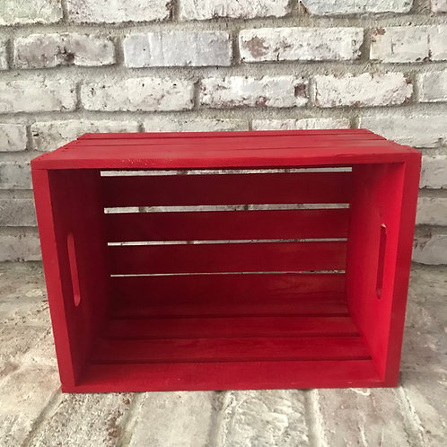 Large Red Crate Rental