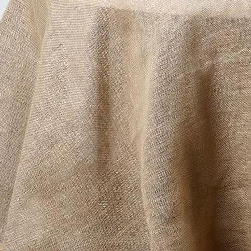 Burlap Round Tablecloth Rental