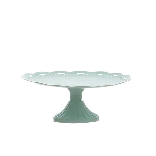 Set of two Baby Blue Iron Cupcake Stands Rental
